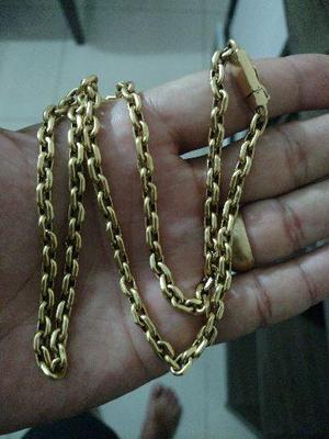 475b90f6995 Cordão Modelo Cartier Oco Cadeado Em Ouro 18k 750
