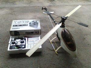 Helicoptero Aeromodelo a combustão Raptor mais controle