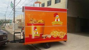 Trailer Food Truck sob encomenda e a pronta entrega