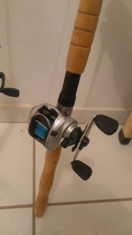 Vara de pescar kit