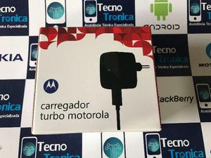 Carregadores Turbo Motorola e Samsung Original