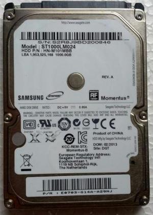 HD 1TB Samsung Para Notebook - STLM024 (Usado)