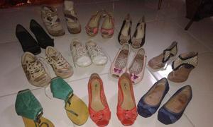 Lote - Calçados femininos