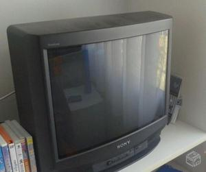 Tv sony trinitron 21 polegadas tela plana conservada