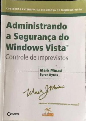 Administrando a Segurança do Windows Vista