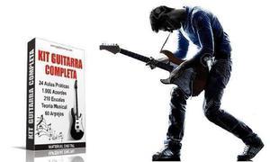 Aprenda a Tocar Guitarra em Casa - Kit Guitarra Completa