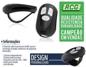 Controle Remoto Portão Eletrônico RCG Freq. 433mhz