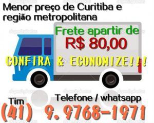 Frete barateza &#; menor preço de Curitiba e região