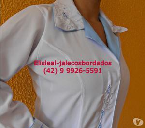 JALECOS BORDADOS ELIS LEAL