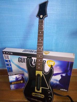 Jogo Guitar Hero Live com Guitarra Oficial para Playstation