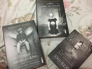 Livros O lar da SRTA. Peregrine 1,2 e 3