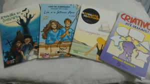 Livros por R$ 16 cada e todos R$ 55. Bem conservados