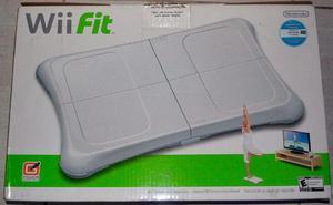 Wii Fit Balance Board + Jogo Original - Nintendo Wii
