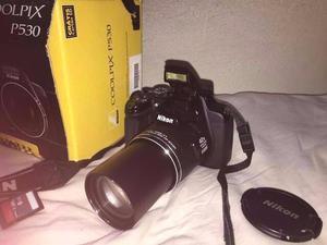 Camera Nikon P530 + Cartão + Bolsa (Funcionando