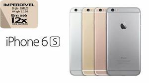 Iphone 6s 64Gb em até 12x