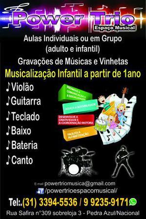 Escola de Música no Nacional/Pedra azul em Contagem