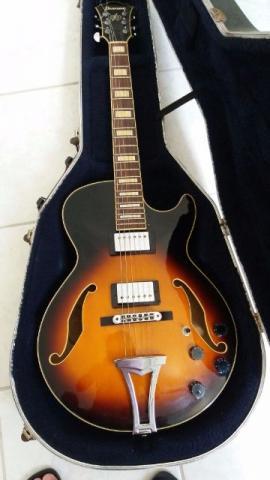 Guitarra Semi Acustica Ibanez Ag-75 Com Case