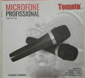 Microfone Profissional Tomate (2 Unidades)