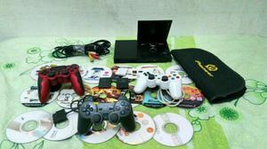PlayStation 2 Slim Completo Confira!