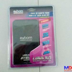 Case USB 3.0 para HD de notebook - produto novo