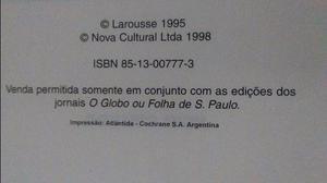 Enciclopédia Larousse Cultural