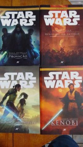 Kit Livros - Star Wars