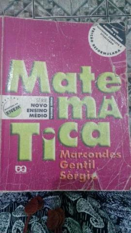 Livro Matemática ENEM e Tópicos de Matemática