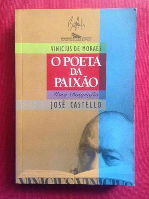 Livro - Vinicius De Moraes: O Poeta Da Paixão - José C