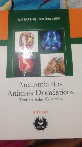 Livro para medicina veterinária