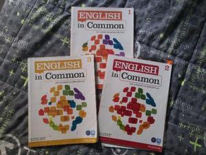 Livros English in common - Vol 1,2 e 3