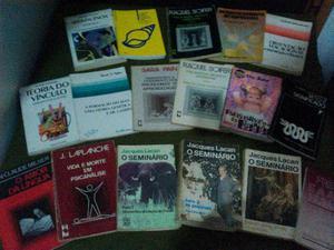 Livros de Psicologia e psicanálise (preço por unidade)