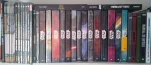 Star Wars - Coleção livros e HQ (Novos)