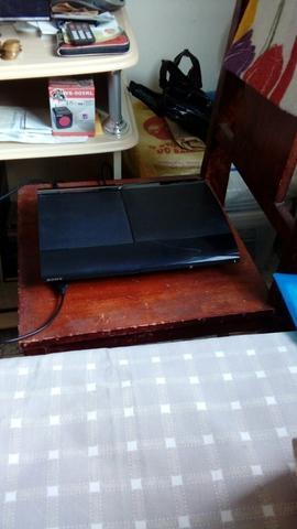 Vendo ou troco PS3 SUPER SLIM 500GB perfeito