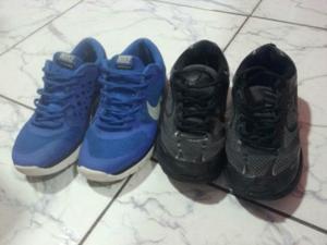 Dois tênis originais Nike e Tryon