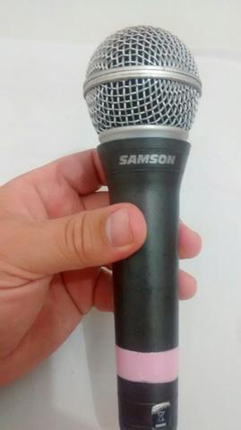 Microfone samson leia!