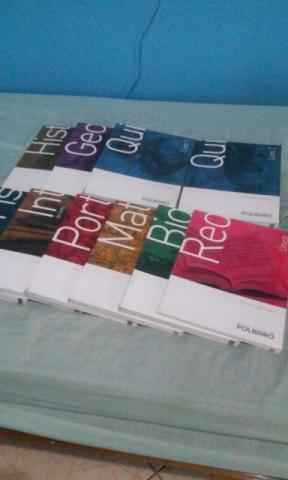 Coleção completa de Livros do Pré-Vestibular do Cursinho