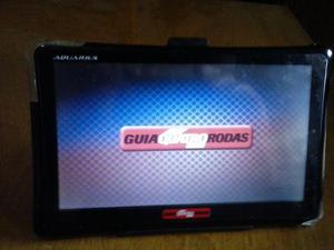 GPS Aquarius Quatro Rodas tela 7´´E TV Digital