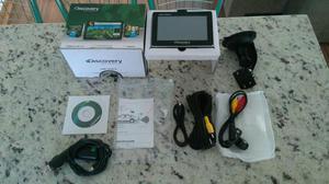 GPS Discovery Channel com TV Digital e Câmera de Ré