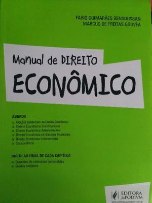 Livro Manual de Direito Econômico -