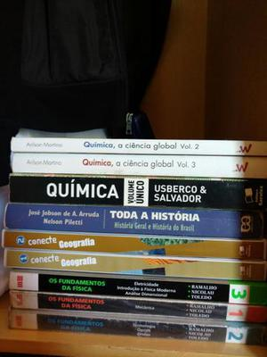 Livros para Enem e vestibular