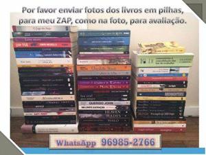 """Livros seminovos e usados """"compro"""" - RJ"""