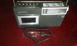 Radio Gravador National Panasonic Rq 432 S Com Microfone