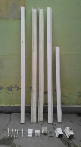 Calha de chuva pvc tigre completa 10 metros