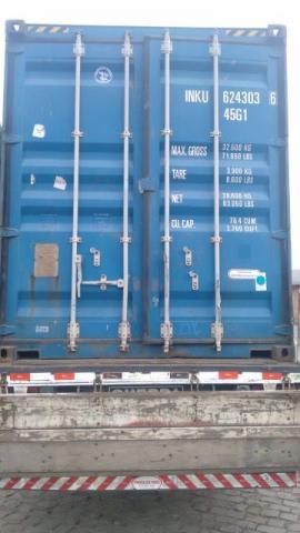 Container de 6 e 12 Metros- Melhor Preço do estado