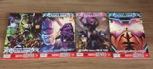 HQ Ultimate Marvel Cataclismo mar. Vol.1 ao 4