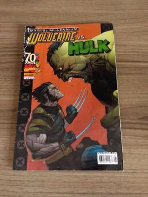 Hq Marvel Millennium Wolverine Vs Hulk Vol.1 ao 3