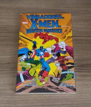 Hq Vingadores vs X-Men vs Quarteto Fantástico