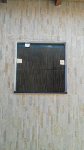 Janela basculante para banheiro vidro temperado
