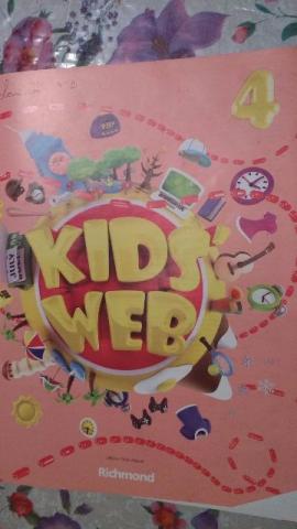 Kid's Web 4 - livro de inglês com CD