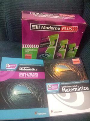 Kit Matemática Paiva volumes 1, 2 e 3